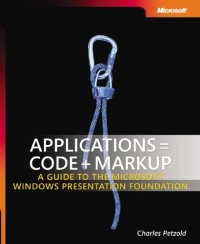 Applications = Code + Markup book cover